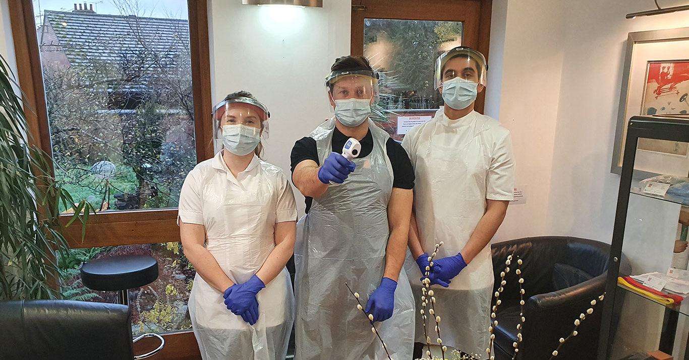 We are a COVID compliant clinic